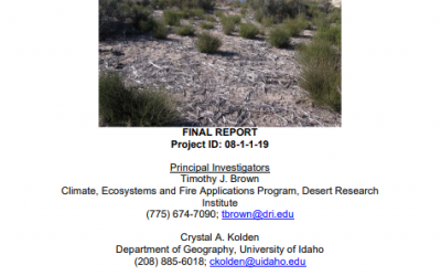 Assessing fuels treatments in southern California National Forests in the context of climate change