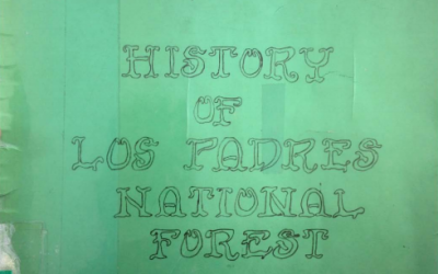 History Of Los Padres National Forest
