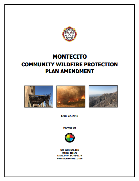 MONTECITO  COMMUNITY WILDFIRE PROTECTION  PLAN AMENDMENT