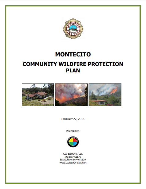 MONTECITO  COMMUNITY WILDFIRE PROTECTION PLAN
