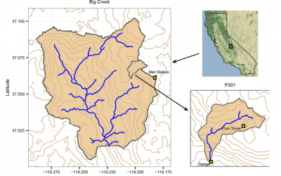 Effect of Tree-to-Shrub Type Conversion in Lower Montane Forests of the Sierra Nevada (USA) on Streamflow
