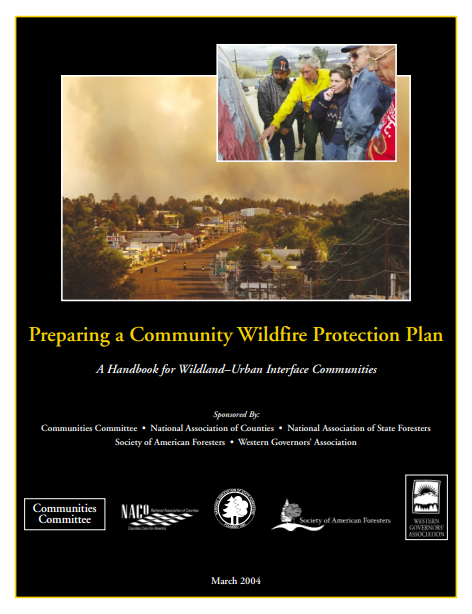 Preparing a Community Wildfire Protection Plan