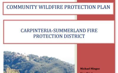 Carpinteria SummeCARPINTERIA-SUMMERLAND FIRE  PROTECTION DISTRICTrland CWPP 2013
