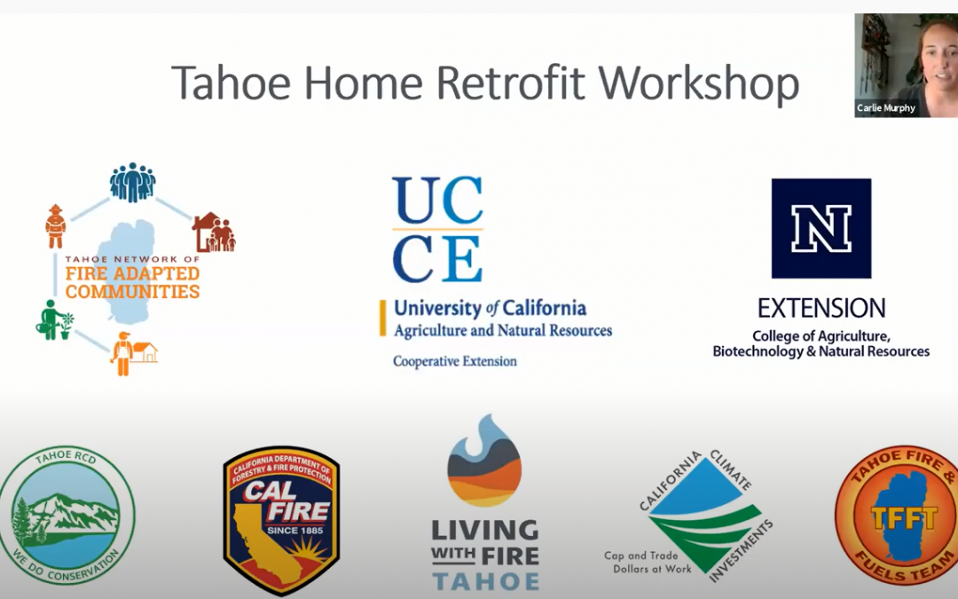 Home Retrofit Workshop – How to Harden Your Home Against Wildfire