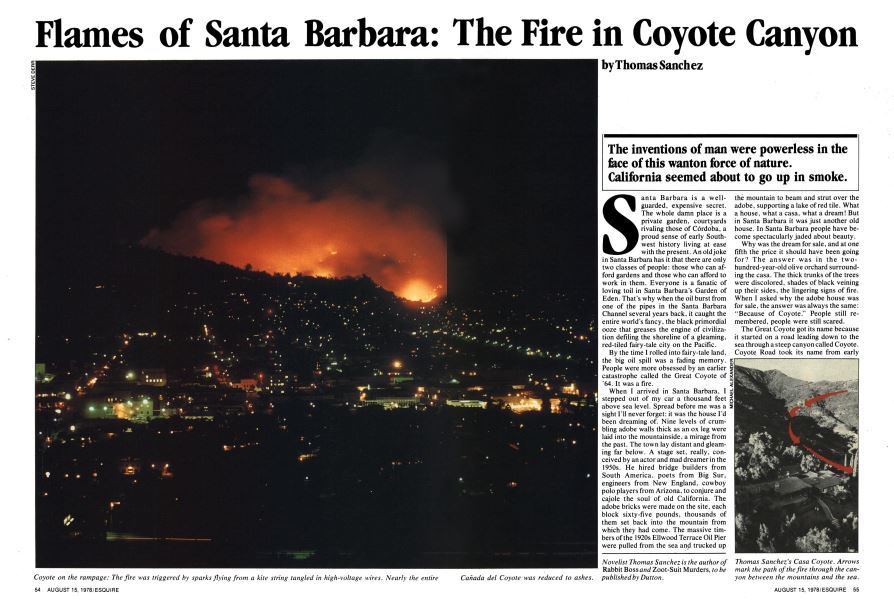 The Coyote Fire 1964